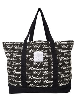 BLACK MENS ACCESSORIES HUF BAGS + BACKPACKS - AC00240BLK