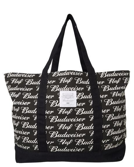BLACK OUTLET MENS HUF BAGS + BACKPACKS - AC00240BLK