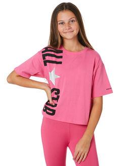 MOD PINK KIDS GIRLS CONVERSE TOPS - R469697A3J