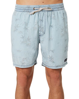 INDIGO TIGER MENS CLOTHING BARNEY COOLS BOARDSHORTS - 602-CC1INTGR