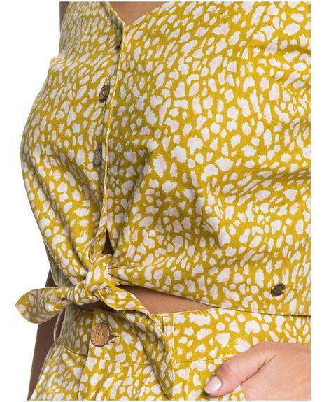 OLIVE OIL LEA WOMENS CLOTHING ROXY SINGLETS - URJWT03036-GLP6
