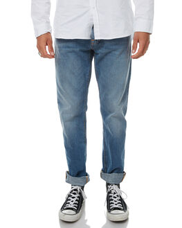 SHINDY INDIGO MENS CLOTHING NUDIE JEANS CO JEANS - 112485SHINY