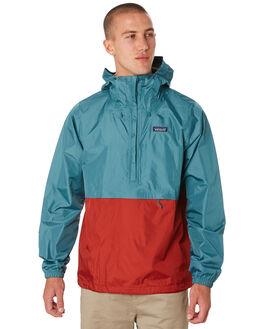 TASMANIAN TEAL MENS CLOTHING PATAGONIA JACKETS - 83932TATE