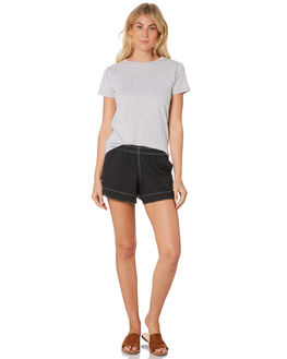 GREY MARLE WOMENS CLOTHING NUDE LUCY TEES - NU22755GRY