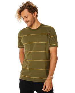 OLIVE MENS CLOTHING HURLEY TEES - AO9719395