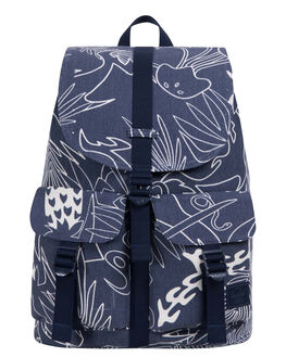 ABSTRACT ISLAND WOMENS ACCESSORIES HERSCHEL SUPPLY CO BAGS - 10233-01840-OSABST