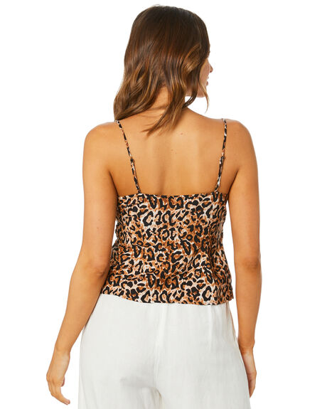 LEOPARD WOMENS CLOTHING TIGERLILY FASHION TOPS - T305049LEO