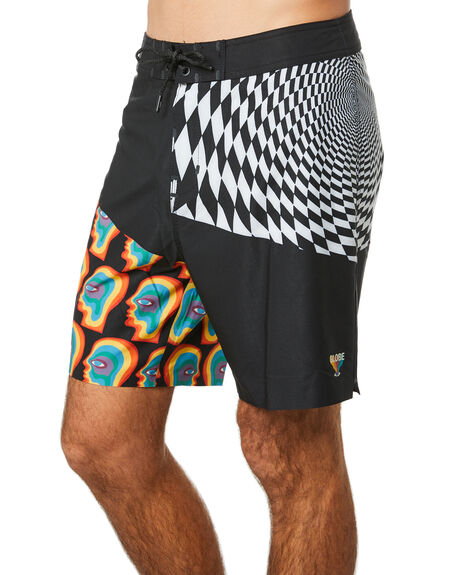 VORTEX BLACK MENS CLOTHING GLOBE BOARDSHORTS - GB01928008VBLK