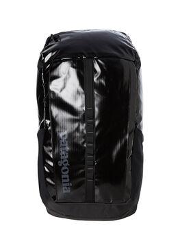 BLACK MENS ACCESSORIES PATAGONIA BAGS + BACKPACKS - 49297BLK