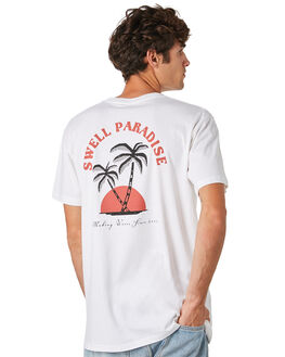 WHITE MENS CLOTHING SWELL TEES - S5201036WHITE
