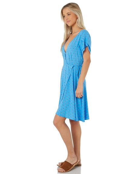 BLUE WOMENS CLOTHING SWELL DRESSES - S8184444BLUE