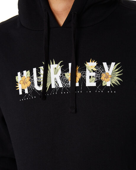 BLACK MENS CLOTHING HURLEY JUMPERS - CT0703010