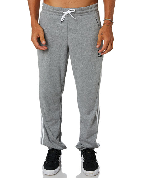 MEDIUM GREY HEATHER MENS CLOTHING ADIDAS PANTS - DU8311MGRY