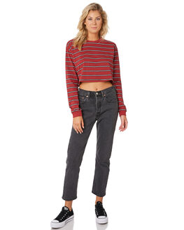 STRIPE WOMENS CLOTHING SWELL TEES - S8189100STRIP