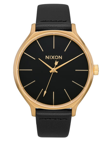 GOLD BLACK WOMENS ACCESSORIES NIXON WATCHES - A1250513