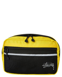 YELLOW MENS ACCESSORIES STUSSY BAGS + BACKPACKS - ST793014YELL