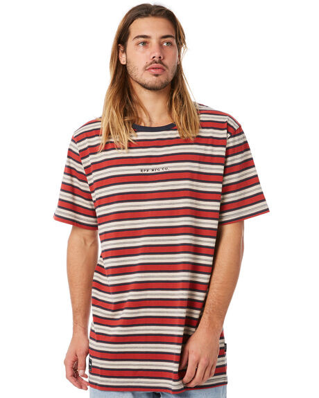 RED STRIPE MENS CLOTHING RPM TEES - 8WMT01BRSTRP