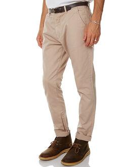 KHAKI MENS CLOTHING ACADEMY BRAND PANTS - 17W100KHA