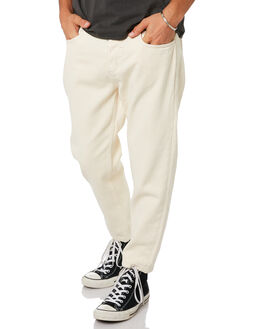 SHADY WHITE MENS CLOTHING THRILLS JEANS - TDP-414ASWHI