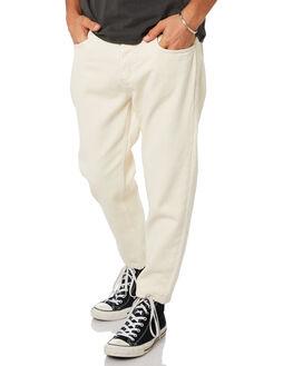 SHADY WHITE MENS CLOTHING THRILLS JEANS - TDP-414ASWHI