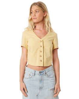 PINEAPPLE WOMENS CLOTHING BILLABONG FASHION TOPS - 6581105PINE