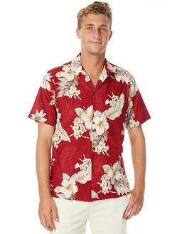 CORAL MENS CLOTHING FEAT SHIRTS - FTSSHA01CORAL
