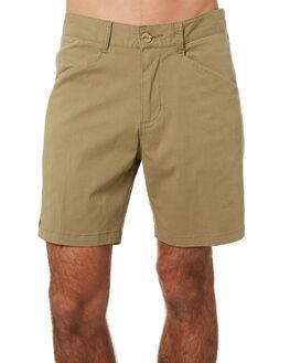 WASHED TOBACCO MENS CLOTHING MCTAVISH SHORTS - MA-20WS-01WTOB