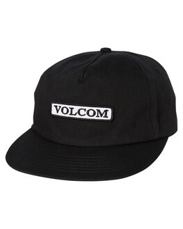 BLACK MENS ACCESSORIES VOLCOM HEADWEAR - D5511914BLK