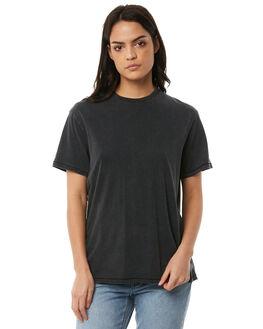 OFF BLACK WOMENS CLOTHING BILLABONG TEES - 6586134OFB