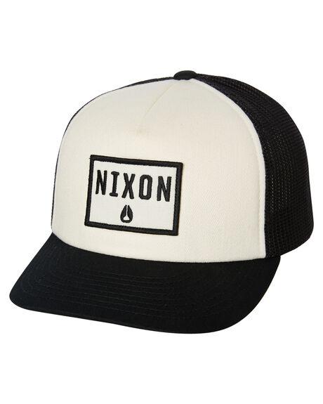 BLACK MENS ACCESSORIES NIXON HEADWEAR - C2913000