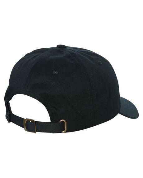 BLACK MENS ACCESSORIES HUF HEADWEAR - HT00424-BLACK