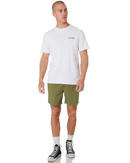 WHITE MENS CLOTHING THE CRITICAL SLIDE SOCIETY TEES - TE18178WHT