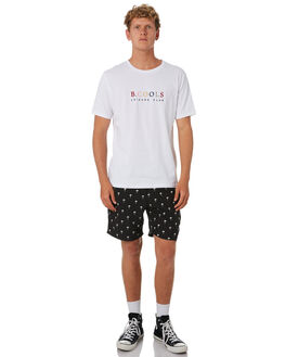 WHITE MENS CLOTHING BARNEY COOLS TEES - 141-CC4WHT