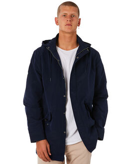 NAVY MENS CLOTHING ACADEMY BRAND JACKETS - 18W205NVY
