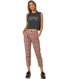 VENICE CHECK WOMENS CLOTHING THRILLS PANTS - WTS8-401HZVEN