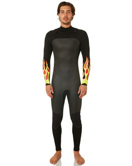 FLAME BOARDSPORTS SURF NARVAL WETSUITS MENS - NARUNT32FLAME