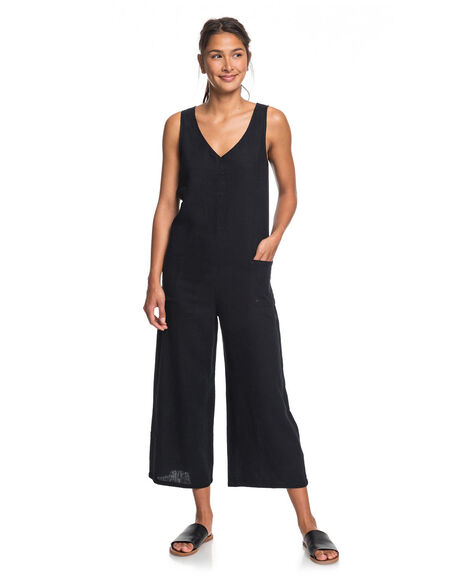ANTHRACITE WOMENS CLOTHING ROXY PLAYSUITS + OVERALLS - ERJWD03402-KVJ0
