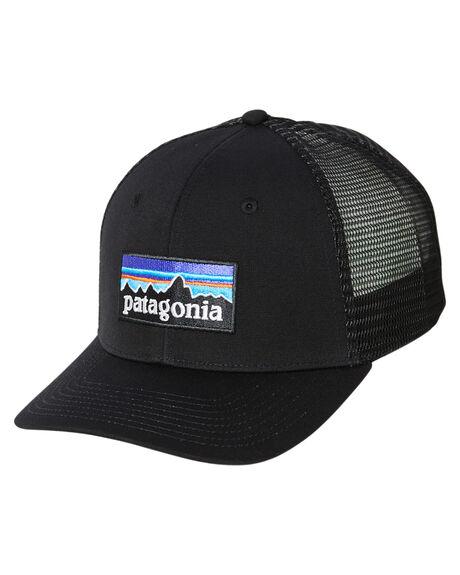 BLACK MENS ACCESSORIES PATAGONIA HEADWEAR - 38289BLK