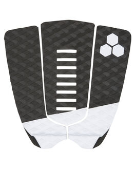 BLACK WHITE BOARDSPORTS SURF CHANNEL ISLANDS TAILPADS - 21024100014BLKWH