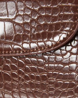 CHOCOLATE CROC WOMENS ACCESSORIES BILLINI BAGS + BACKPACKS - HB33CHOCC