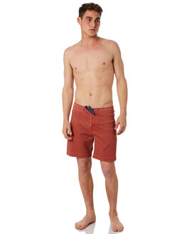 RED CENTRE MENS CLOTHING THE CRITICAL SLIDE SOCIETY BOARDSHORTS - BS1856RED