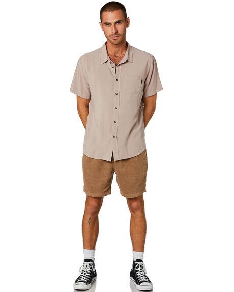 OPAL GREY MENS CLOTHING RUSTY SHIRTS - WSM0834OPG