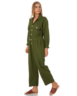 FOREST GREEN WOMENS CLOTHING THE BARE ROAD PLAYSUITS + OVERALLS - 992041-05FOR