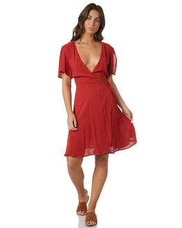 RUST WOMENS CLOTHING SWELL DRESSES - S8171465RUST