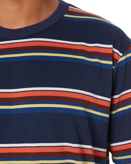 OBSIDIAN MYSTIC DATE MENS CLOTHING HURLEY TEES - CJ5790452