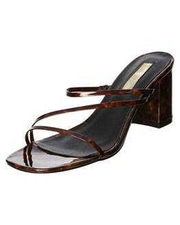 TORTOISE SHELL WOMENS FOOTWEAR BILLINI HEELS - H1233TORT