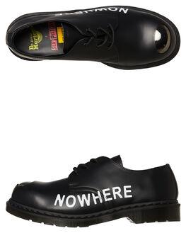 BLACK SMOOTH MENS FOOTWEAR DR. MARTENS BOOTS - SS24790001BLKSM