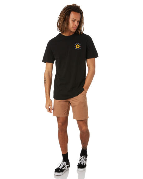 BLACK MENS CLOTHING SWELL TEES - S5222013BLK