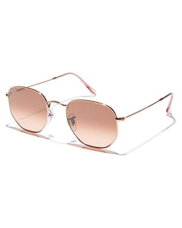 COPPER PINK BROWN MENS ACCESSORIES RAY-BAN SUNGLASSES - 0RB3548NCOPPB