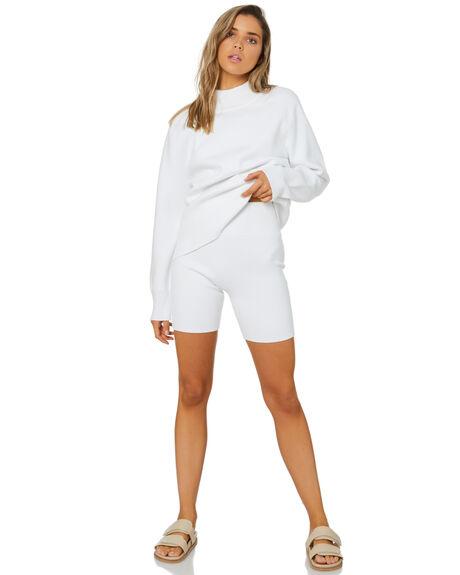 WHITE WOMENS CLOTHING ZULU AND ZEPHYR SHORTS - ZZ3468WHT